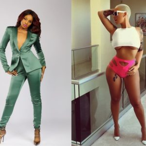 Seyi Shay vs Amber Rose