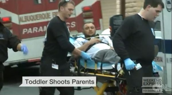 Toddler Shoots Parents