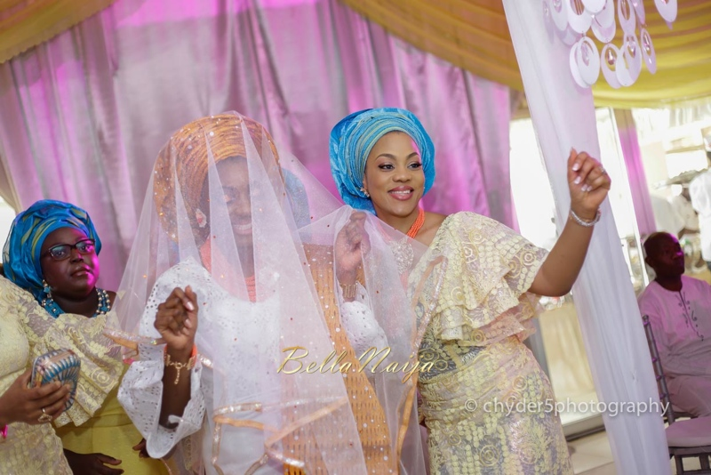 Toyin & Pastor Poju Oyemade | BellaNaija Weddings February 2015 | Yoruba Wedding in Lagos, Nigeria.TheOyemade's0008