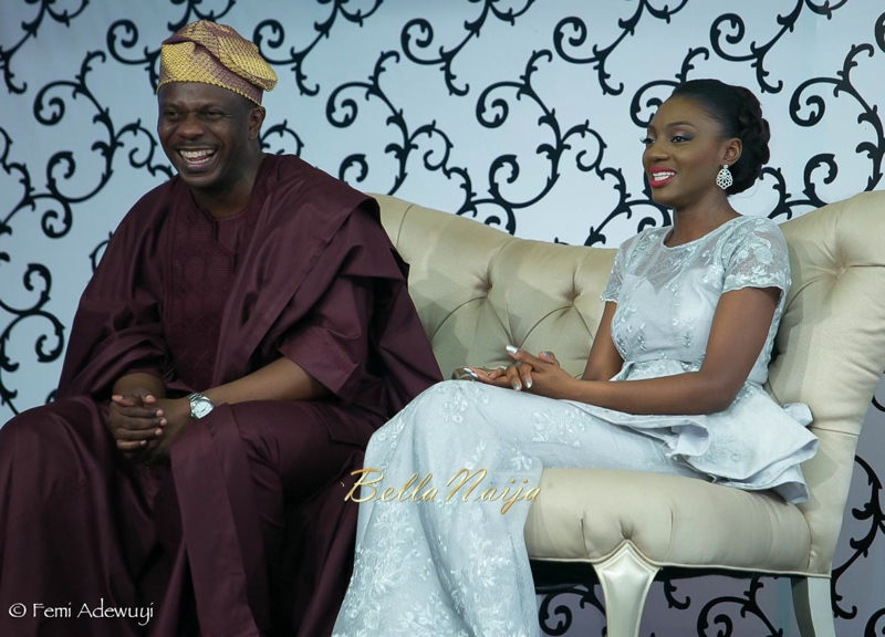 Toyin & Pastor Poju Oyemade | BellaNaija Weddings February 2015 | Yoruba Wedding in Lagos, Nigeria.TheOyemade's0116