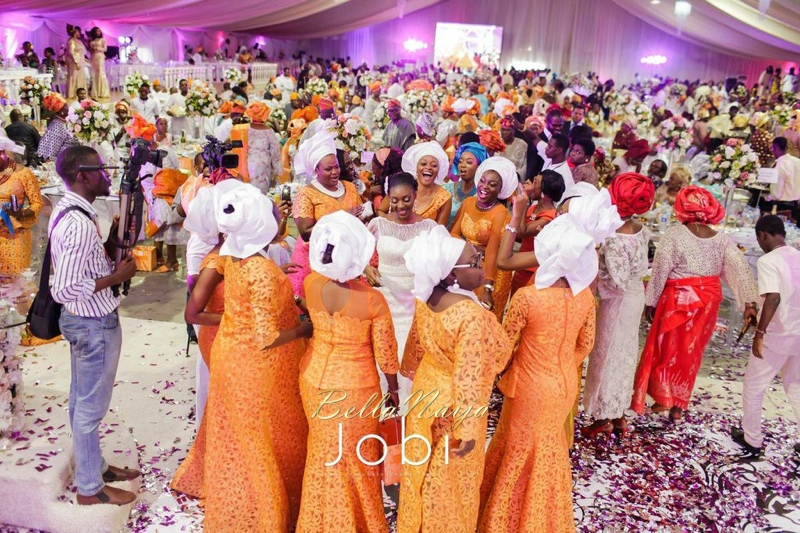 Wedding reception pictures on bellanaija