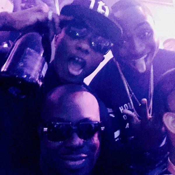 Wizkid & Davido with Industry Exec Tola Odunsi