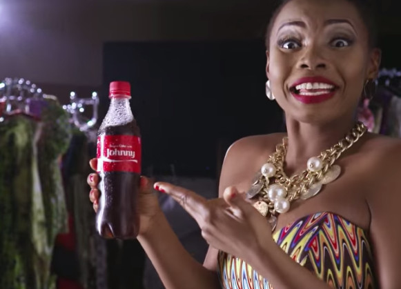 Yemi Alade Johnny Share a Coke Campaign