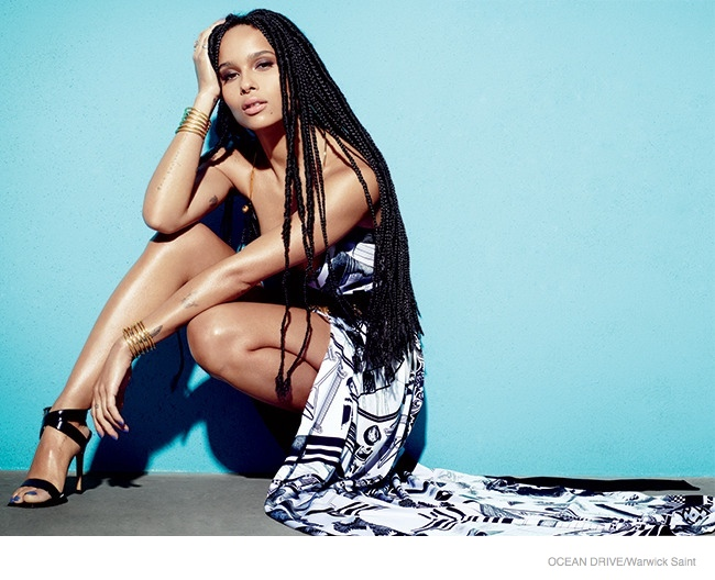 Zoe Kravitz for Ocean Drive - BellaNaija - February 2015