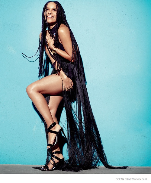 Zoe Kravitz for Ocean Drive - BellaNaija - February 2015002