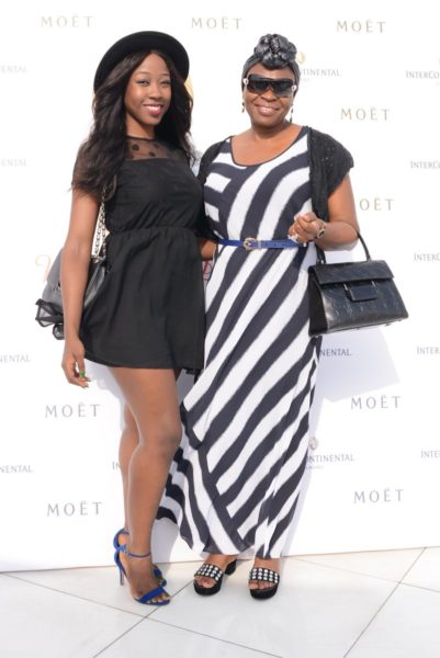Beverly Naya & Mum