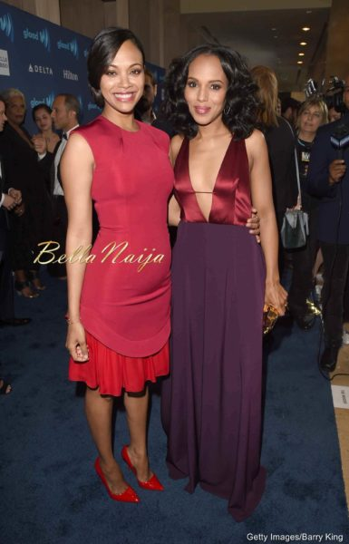Zoe Saldana & Kerry Washington