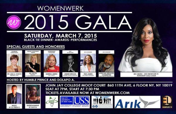 2015 WomenWerk Gala