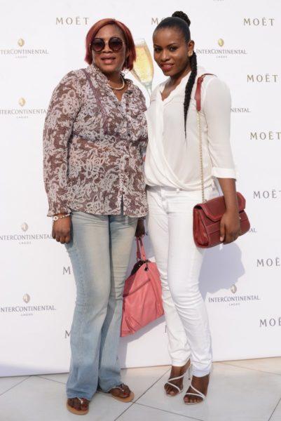 Liz Awoliyi & Mum