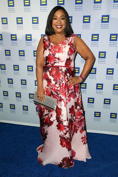 Shonda Rhimes at the Human Rights Campaign Gala