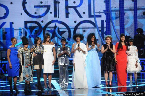 Helene Gayle, Erykah Badu, Nadia Lopez, Michelle Obama, Regina King, Tracee Ellis Ross, Beverly Bond, Debra Lee, Ava DuVernay & Cicely Tyson