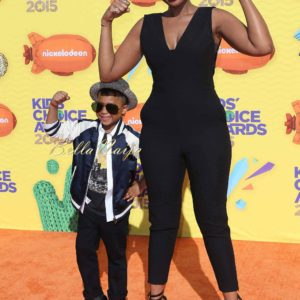Jennifer Hudson and David Daniel Otunga Jr.