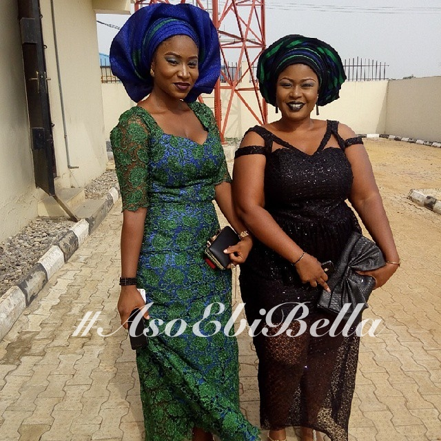 @kayliecruze & @mrsomarion, makeup & gele by @convergencemakeovers