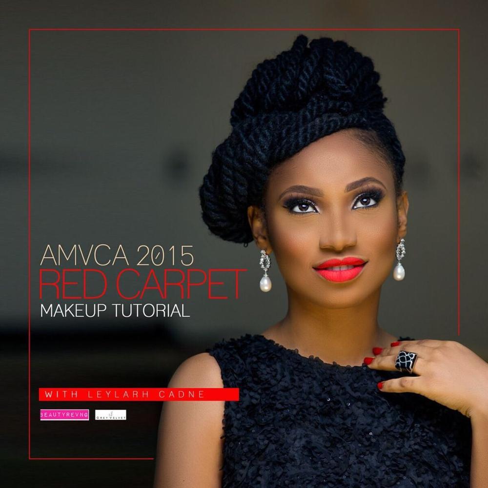 AMVCA Red Carpet Makeup Tutorial - BellaNaija - March 2015