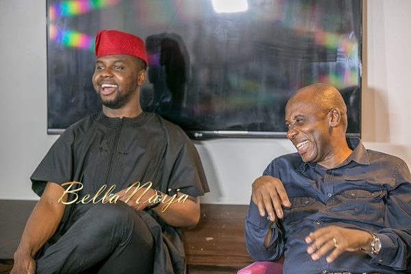 Adebola Williams and Governor Rotimi Amaechi