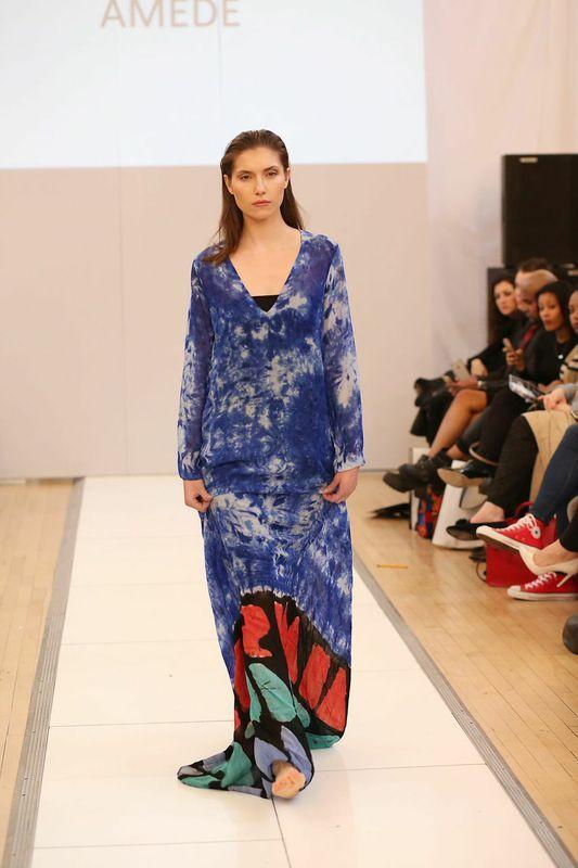 Amede 2015 Collection Showcase at London Fashion Week Catwalk Edit - Bellanaija - March2015001