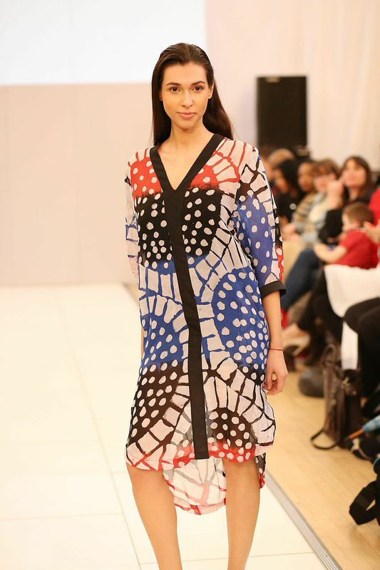 Nigerian Brand Amede Showcases The Lady Collection At London Fashion Week 39 S 39 Catwalk Edit