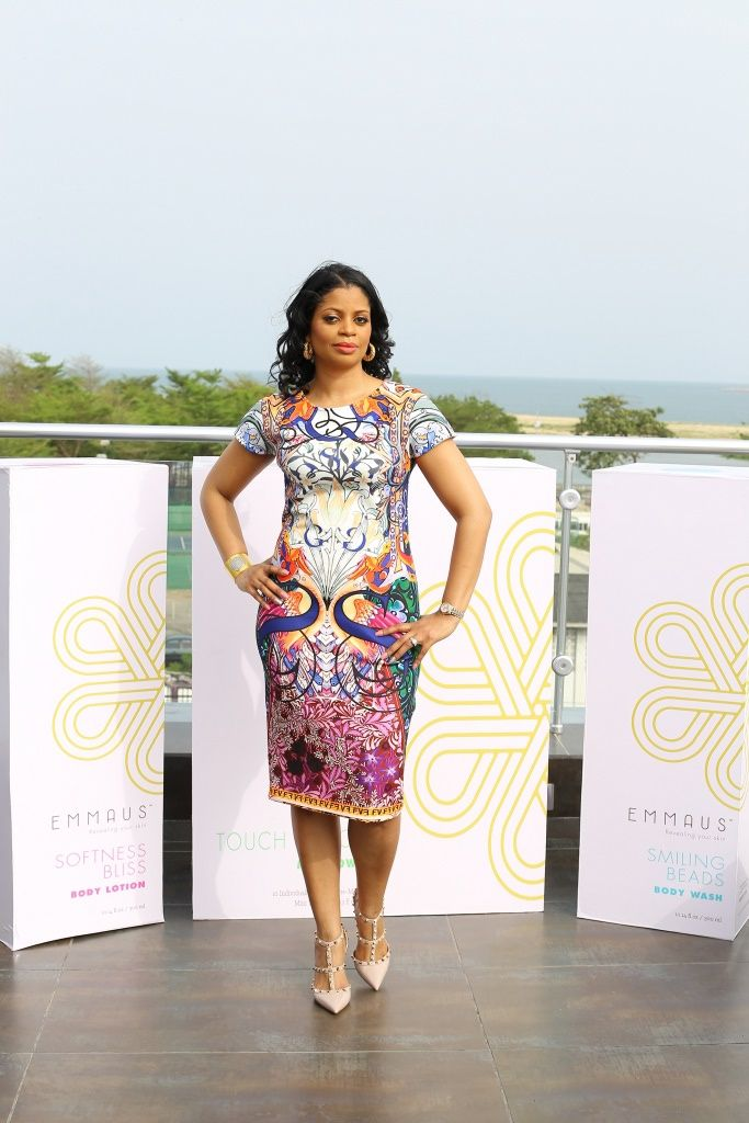 Aminah Sagoe Launches Emmaus Luxury Skincare Line in Lagos - Bellanaija - March2015001