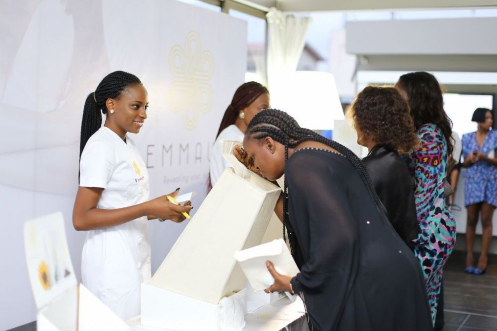 Aminah Sagoe Launches Emmaus Luxury Skincare Line in Lagos - Bellanaija - March2015008