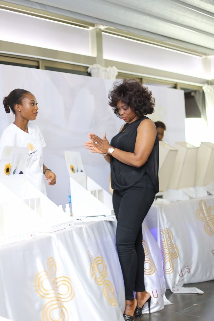 Aminah Sagoe Launches Emmaus Luxury Skincare Line in Lagos - Bellanaija - March2015017