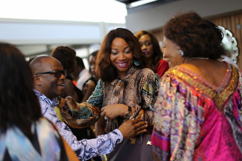 Aminah Sagoe Launches Emmaus Luxury Skincare Line in Lagos - Bellanaija - March2015036