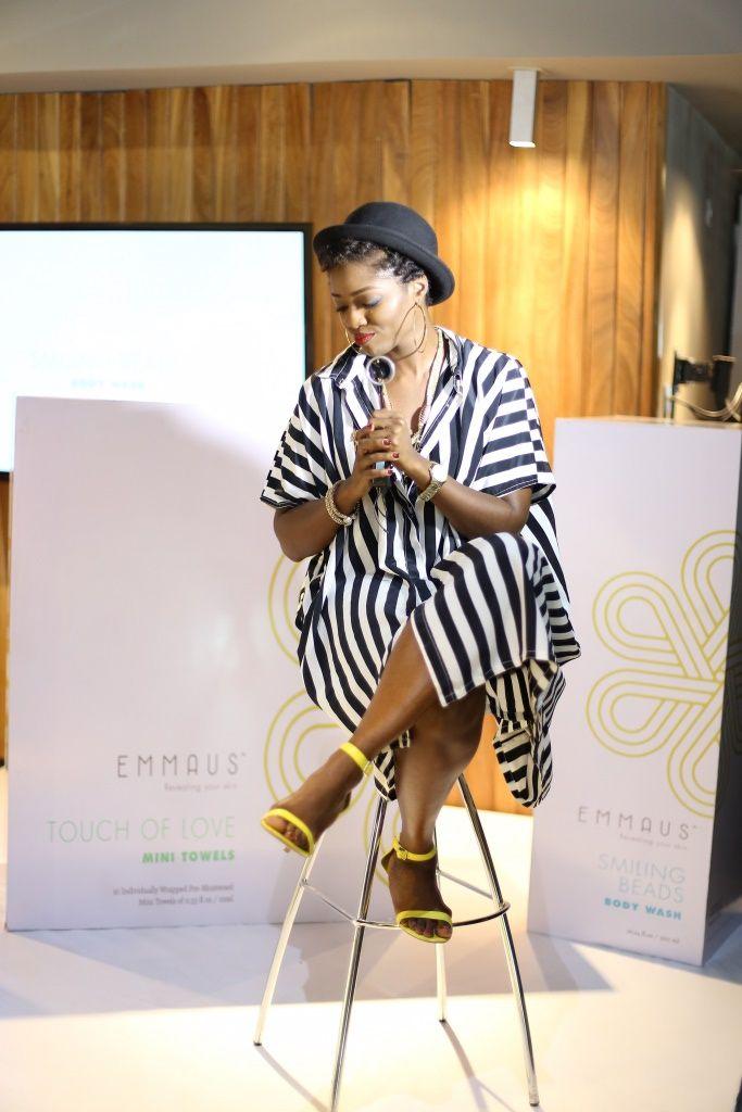 Aminah Sagoe Launches Emmaus Luxury Skincare Line in Lagos - Bellanaija - March2015049