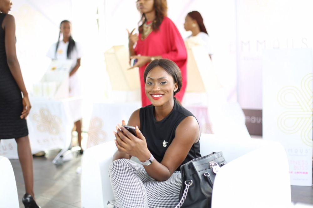 Aminah Sagoe Launches Emmaus Luxury Skincare Line in Lagos - Bellanaija - March2015075