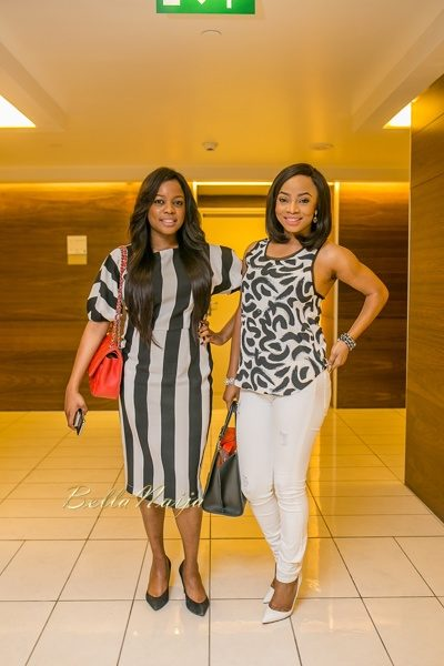 Arese Ugwu and Toke Makinwa