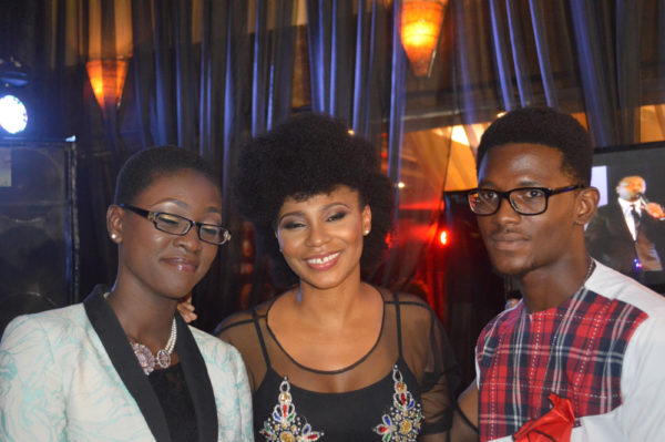 Ayobami and Jesse with Nse Ikpe Etim