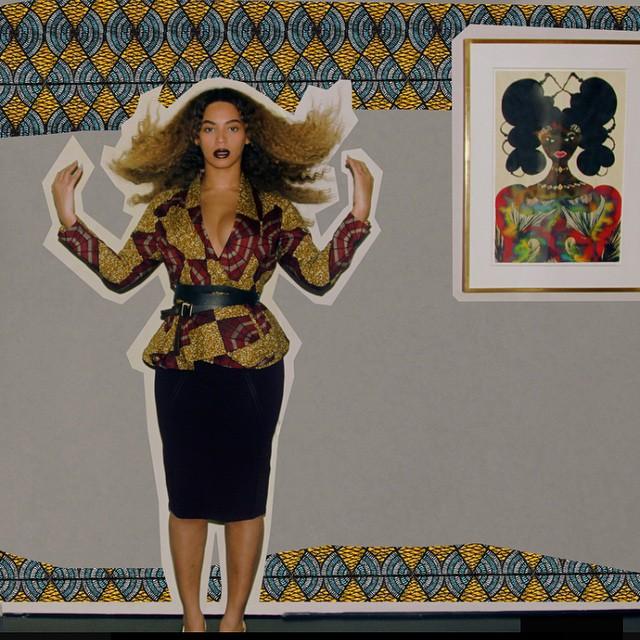 Beyonce Ankara - March 2015 1