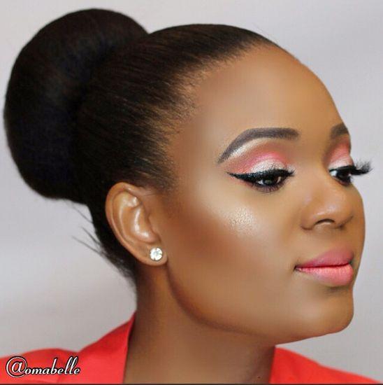 Bn Beauty Makeup Tutorial Omabelle - BellaNaija - March 2015