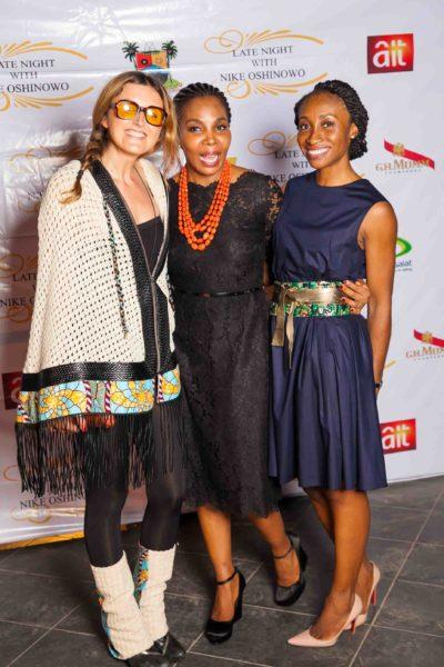 Caterina Bortolussi, Nike Oshinowo & Didi Ocheja