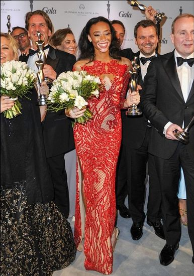 Chantelle Winne Wins Beauty Icon Awards at Germany Gala Spa Awards - BellaNaija - March 2015003 (2)