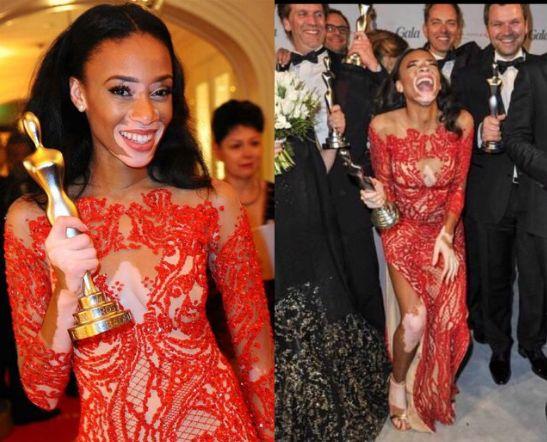Chantelle Winne Wins Beauty Icon Awards at Germany Gala Spa Awards - BellaNaija - March 2015005