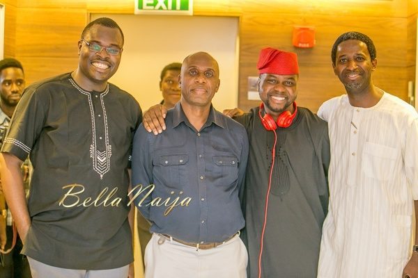 Chude Jideonwo, Rotimi Amaechi, Adebola Williams and Kola Oyeneyin