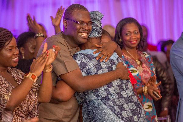 Chude Jideonwo & Mum share a hug