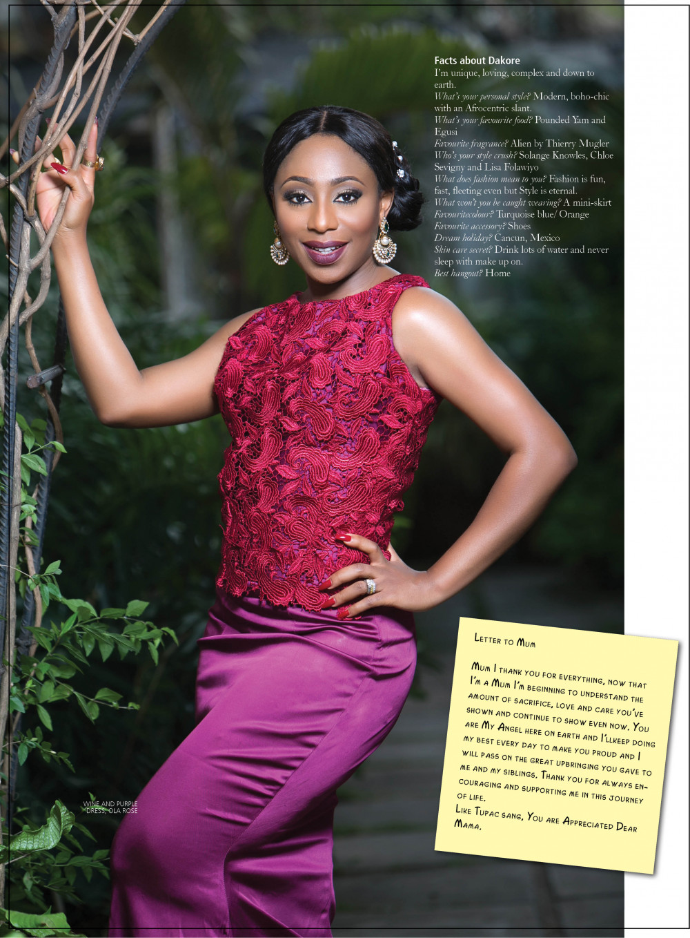Juggling Nollywood Motherhood Dakore Egbuson Akande