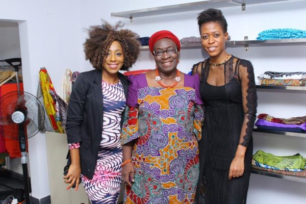 Dakore Akande, Mrs Sade Fahm and Ezinne Chinkata