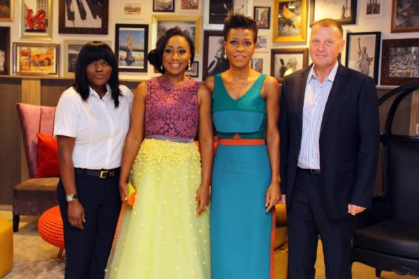 Dakore, Ezinne and management of Maison Fahrenheit
