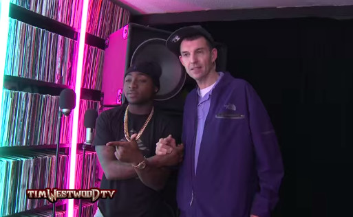 Davido Freestyle Tim Westwood