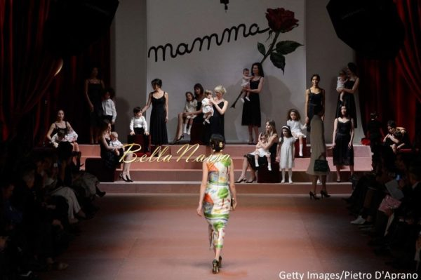 Dolce & Gabbana Milan Fashion Week 2015 - Bellanaija - March2015086