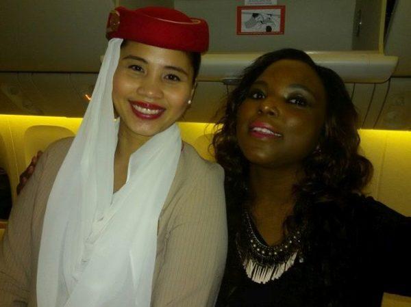 Emirates Hostess 1