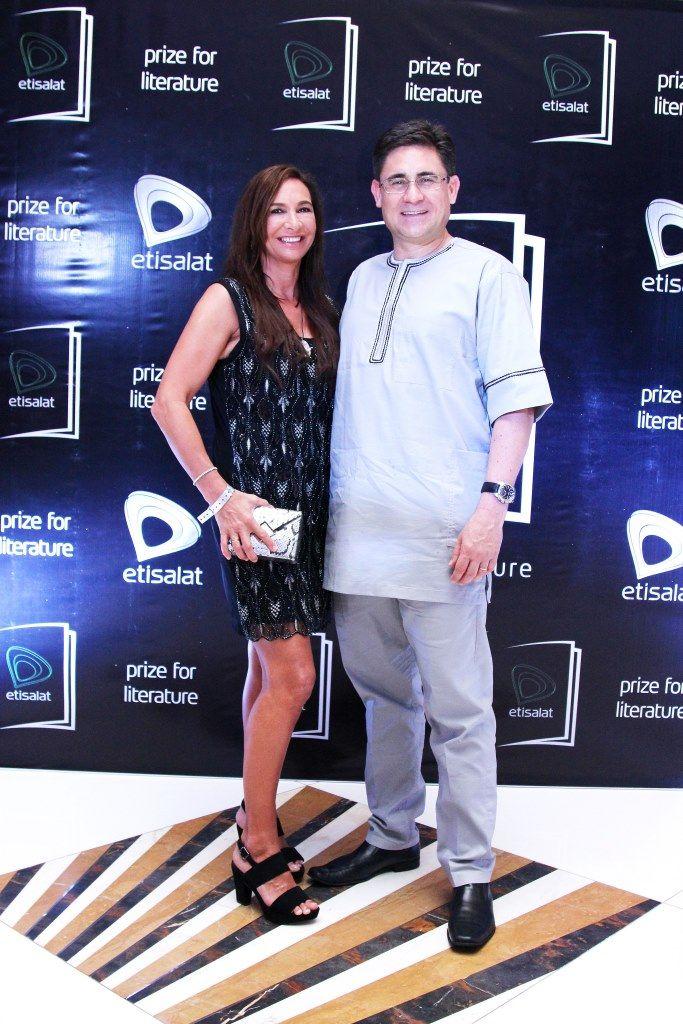 Matthew Willsher (Chief Executive Officer, Etisalat Nigeria) & Wife, Deborah Willsher
