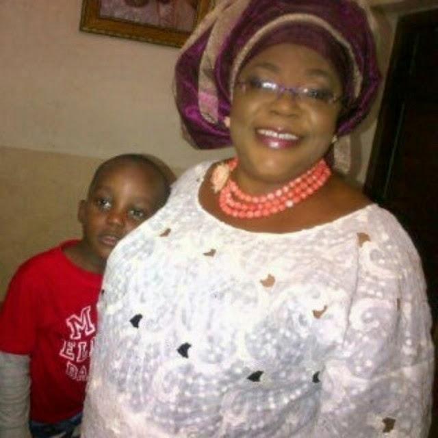 Funke Akindele's Mum