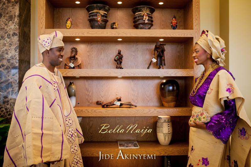 Gbeke & Femi's Yoruba Traditional Engagement in Lagos, Nigeria | Jide Akinyemi | BellaNaija23
