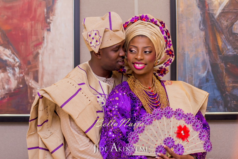 Gbeke & Femi's Yoruba Traditional Engagement in Lagos, Nigeria | Jide Akinyemi | BellaNaija25