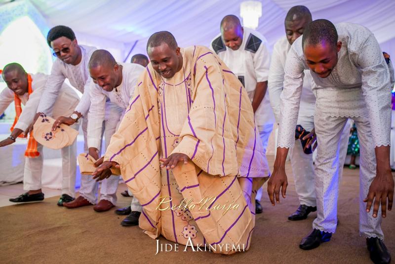 Gbeke & Femi's Yoruba Traditional Engagement in Lagos, Nigeria | Jide Akinyemi | BellaNaija34