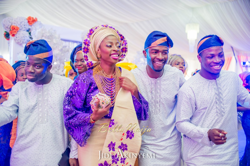 Gbeke & Femi's Yoruba Traditional Engagement in Lagos, Nigeria | Jide Akinyemi | BellaNaija43