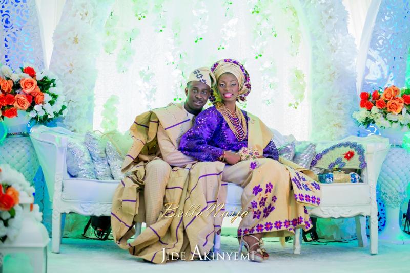 Gbeke & Femi's Yoruba Traditional Engagement in Lagos, Nigeria | Jide Akinyemi | BellaNaija60