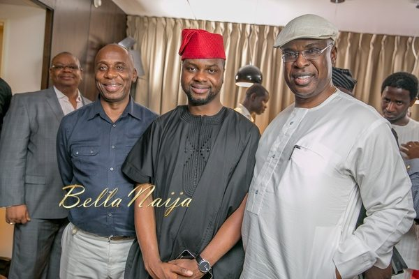 Governor Amaechi, Adebola Wiliams and Sen. Timipre Silva